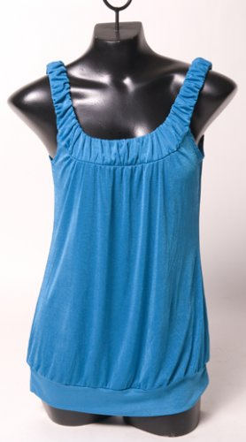 Turquoise Tank Blouse