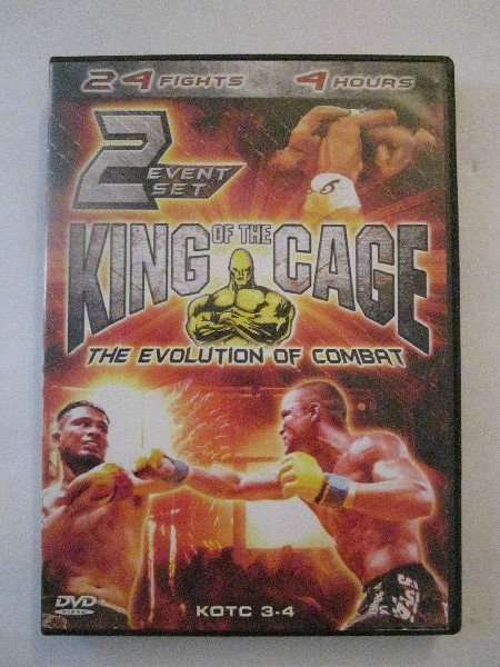 King of the Cage - 2-Event Set: Vols. 3 & 4 (DVD, 2004)