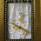 Handmade Honey Dew Pendant / Necklace, Free Shipping!