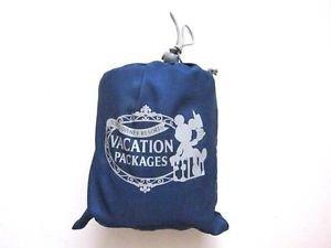 New! Tokyo Disneyland Resort Polyester Blanket & Bag Set, Blue, Limited Edition
