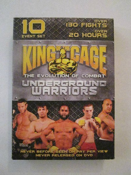 King of the Cage - Underground Warriors (DVD, 2006)