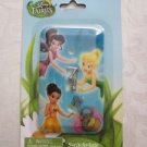 NIP Disney Fairies Tinkerbell, Silver Mist & Iridessa Switchplate Cover Set