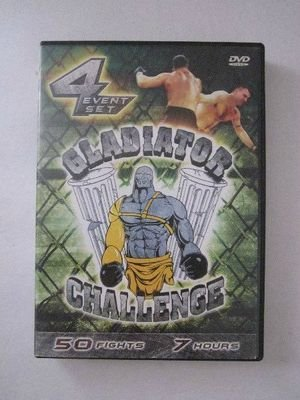 Gladiator Challenge - 50 Fights in 7 Hours on Two DVDs (DVD, 2003, 2-Disc Set)