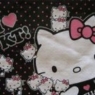 New! HELLO KITTY Mini Black Tote Reusable Bag / Gift Sac, Free US Shipping!
