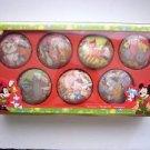 Deck The Halls Disney Classic 7pc Ornament Set, Disney Store 2012 Alice, Dumbo +