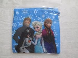 Disney FROZEN  Stringed Cosmetic/Gift /Snack Bag, Anna, Elsa, Kristoff and Olaf