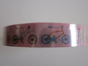 New! Printed Adhesive Tape, Card Suits, Bicycle, Music, Slot Cherry, Hearts