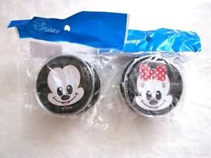 New! Disney & Pixar Character Round Face Zipper Coin Purse, Mickey, Pooh, Goofy