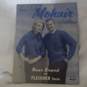 HAND KNIT MOHAIR FASHIONS Volume 55