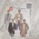 McCALL'S PATTERN #6443