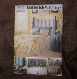 BUTTERICK PATTERN 3325