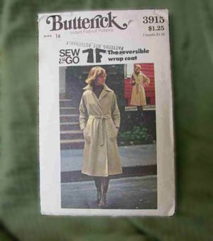 BUTTERICK PATTERN 3915