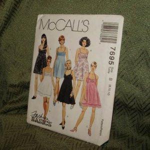 McCALL'S PATTERN 7695