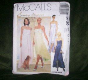 McCALL'S PATTERN 9130