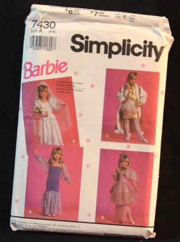 SIMPLICITY PATTERN 7430