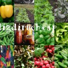 Complete Heirloom Vegetable seeds Garden 27 Varieties