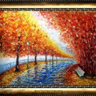 VALERY RYBAKOW Original pallete knife oil painting!