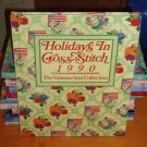 OXMOOR HOUSE PRESENTS THE VANESSA-ANN COLLECTION HOLIDAYS IN CROSS-STITCH (1990)