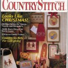 CountryStitch Premier Issue cross stitch patterns magazine