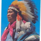 APACHE INDIAN, VINTAGE 1960 CHROME POSTCARD  25