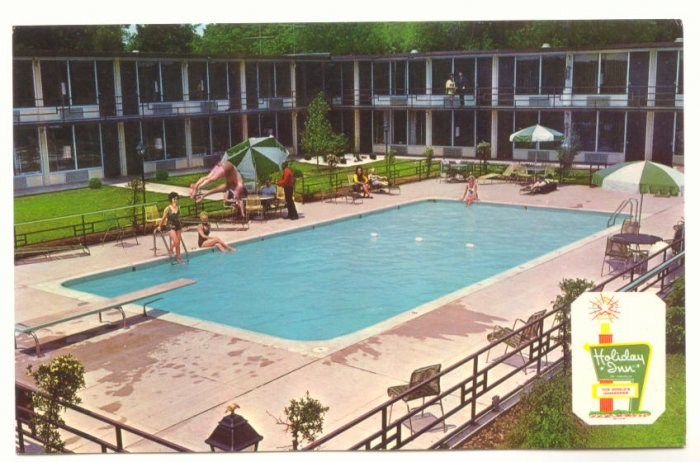 HOLIDAY INN NORTH, NASHVILLE TENNESSEE VINTAGE POSTCARD   30