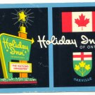HOLIDAY INN OF ONTARIO VINTAGE CHROME UNUSED Vintage  POSTCARD   32