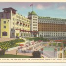 CHATEAU LAKE LOUISE BANFF NATIONAL PARK CANADA  Vintage POSTCARD    56