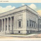 MONTREAL ART GALLERY, VIEW OF BUILDING VINTAGE POSTCARD   81