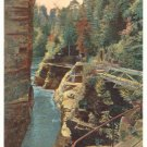 AUSABLE CHASM, LAKE CHAMPLAIN, NEW YORK POSTCARD 84