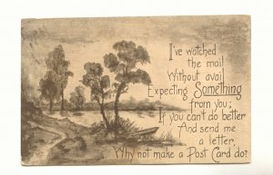 PLEASE WRITE, LAKE VIEW, VINTAGE 1911 POSTCARD   140