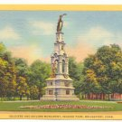 SOLDIERS & SAILORS MONUMENT, SEASIDE PARK, BRIDGEPORT   #186