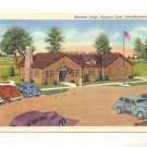 ENTRANCE LODGE, NIAGARA CAVE, IOWA-MINNESOTA LINE POSTCARD #189