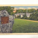 MEMORIAL BRIDGE BINGHAMTON NEW YORK 1944 POSTCARD   #199
