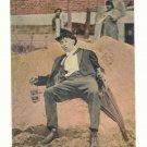 OH, GEE, THE EARTH BELONGS TO ME, DRUNK MAN, 1913 POSTCARD #227