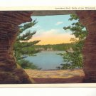 LUNCHEON HALL, DELLS OF THE WISCONSIN RIVER MILWAUKEE   POSTCARD #317