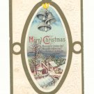 MERRY CHRISTMAS, SILVER BELLS 1916 Vintage Postcards   #361
