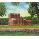 DRAMATIC ARTS BUILD. UNIVERSITY OF IOWA, 1956 POSTCARD #376