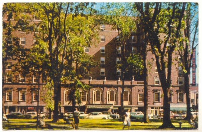 MARK TWAIN HOTEL, ELMIRA NEW YORK VINTAGE 1959   Vintage Postcard #391