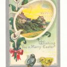 MERRY EASTER, CALLA LILLIES, CHICKS, SPRING SCENE    Postcard #407