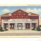 FORT KNOX THEATRE, FORT KNOX, KENTUCKY, LINEN POSTCARD   #450