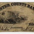 Blackstone, Worcester County Bank, $3, Dec 1, 1863