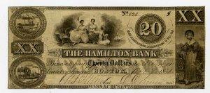 Boston, Hamilton Bank, $20, MA-225-A45