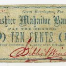 Great Barrington, Massachusetts, 10 Cents, Nov 1, 1862