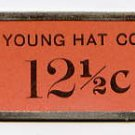 Danbury, Bethel, Norwich, 12.5 Cent Cardboard Scrip, 1930s