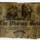Hartford, Ct., Phoenix Bank, 1 Dollar, 1856