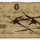 New London, CT, Union Bank $1, 1821