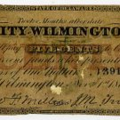 Wilmington, City of Wilmington, 5 Cents, Nov 1, 1862