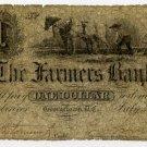 Georgetown, Farmers Bank, $1, July 5, 1852
