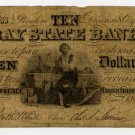 Lawrence, Bay State Bank, $10, 1864