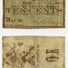 Lowell, Wm. Brazer, 10 Cents, 1862